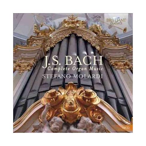 Stefano Molardi - Bach: Complete Organ Music (CD) - image 1 of 1