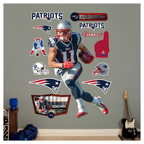 "New England Patriots Fathead® Decorative Wall Art Set - 52""x4""x4"" - image 1 of 1"
