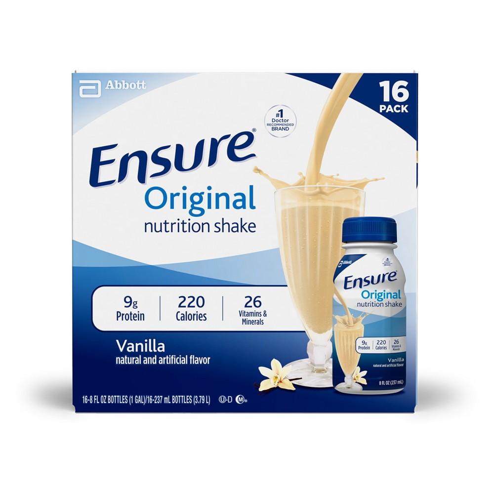 Ensure Original Nutrition Shake - Vanilla - 8 fl oz/16ct