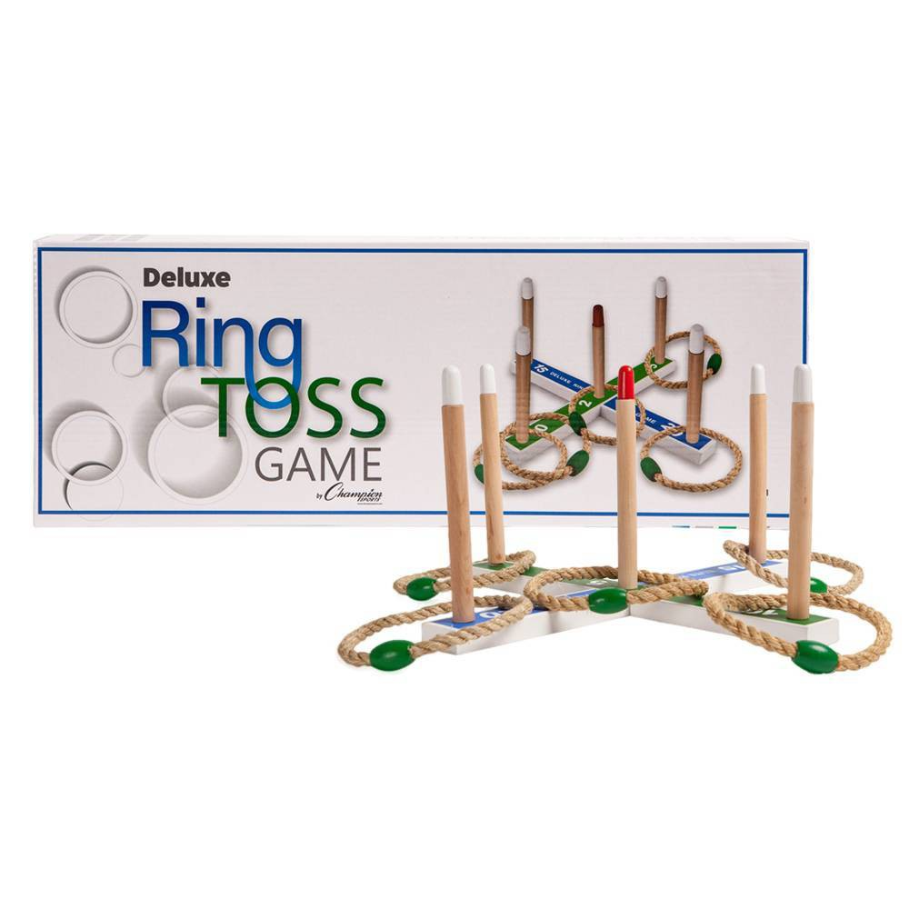 Image of Champion Sports Deluxe Ring Toss Roundnet Set