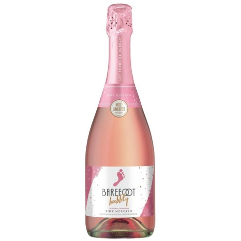 Barefoot Bubbly Pink Moscato Wine - 750ml Bottle - image 1 of 4