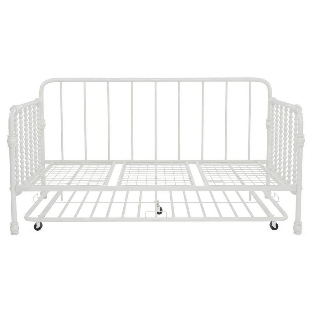 Image of Bed Frame Twin White - Little Seeds