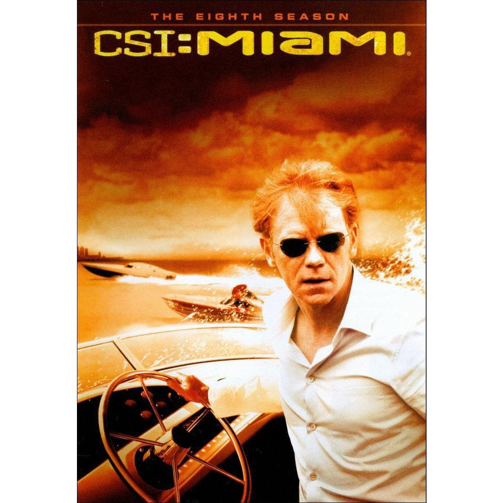 Csi Miami The Eighth Season Dvd