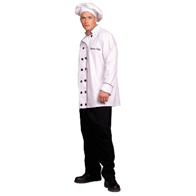 Adult Master Chef Halloween Costume One Size