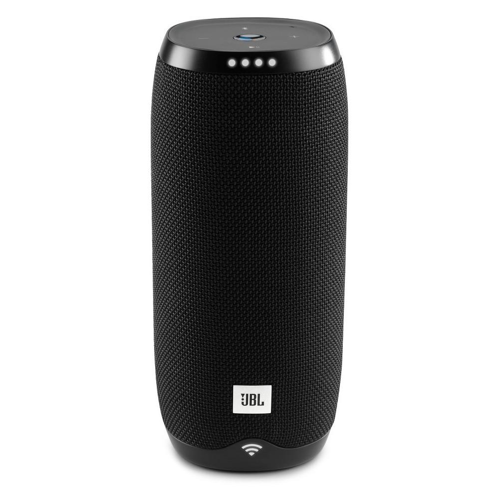 Jbl Link 20 Portable Bluetooth Speaker with Google Assistant Built-in - Black (JBLLINK20BLKUS)