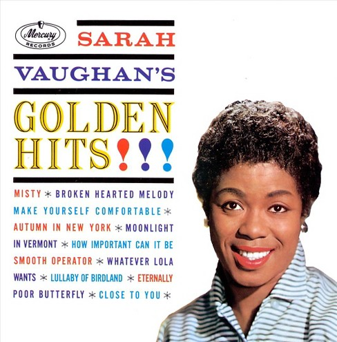 Sarah Vaughan - Golden Hits - Sarah Vaughan (CD) - image 1 of 2