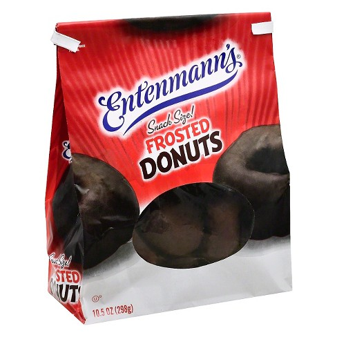 Entenmann's® Softees 20ct Chocolate Frosted Donuts - 10.5oz - image 1 of 1