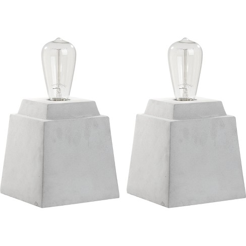 Table Lamp Gray (Includes Energy Efficient Light Bulb) - Safavieh - image 1 of 3