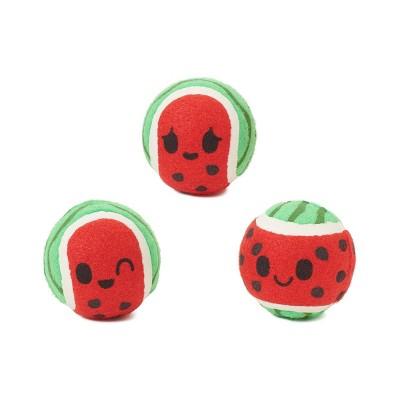 BARK Watermelon Balls Dog Toy - Baller Melons - 3pk