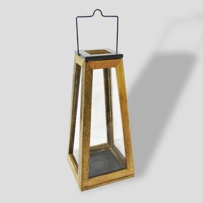 22  Wood & Zinc Metal Outdoor Lantern - Smith & Hawken™