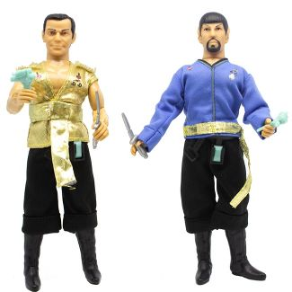 Mego Star Trek Mirror Universe Kirk & Spock Action Figure
