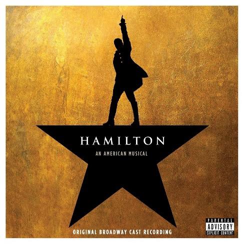Hamilton (Original Broadway Cast Recording) (CD) - image 1 of 1