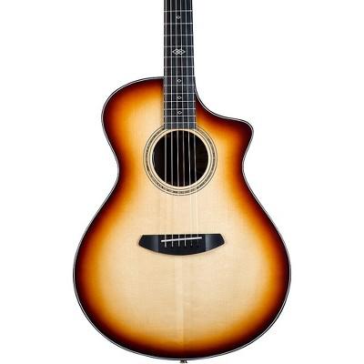 Breedlove Premier Limited Adirondack Brazilian Rosewood Concert CE Acoustic-Electric Guitar Burnt Amber Burst