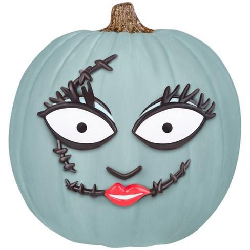 Disney Nightmare Before Christmas Sally Pumpkin Push-In Halloween Decorating Kit - image 1 of 4