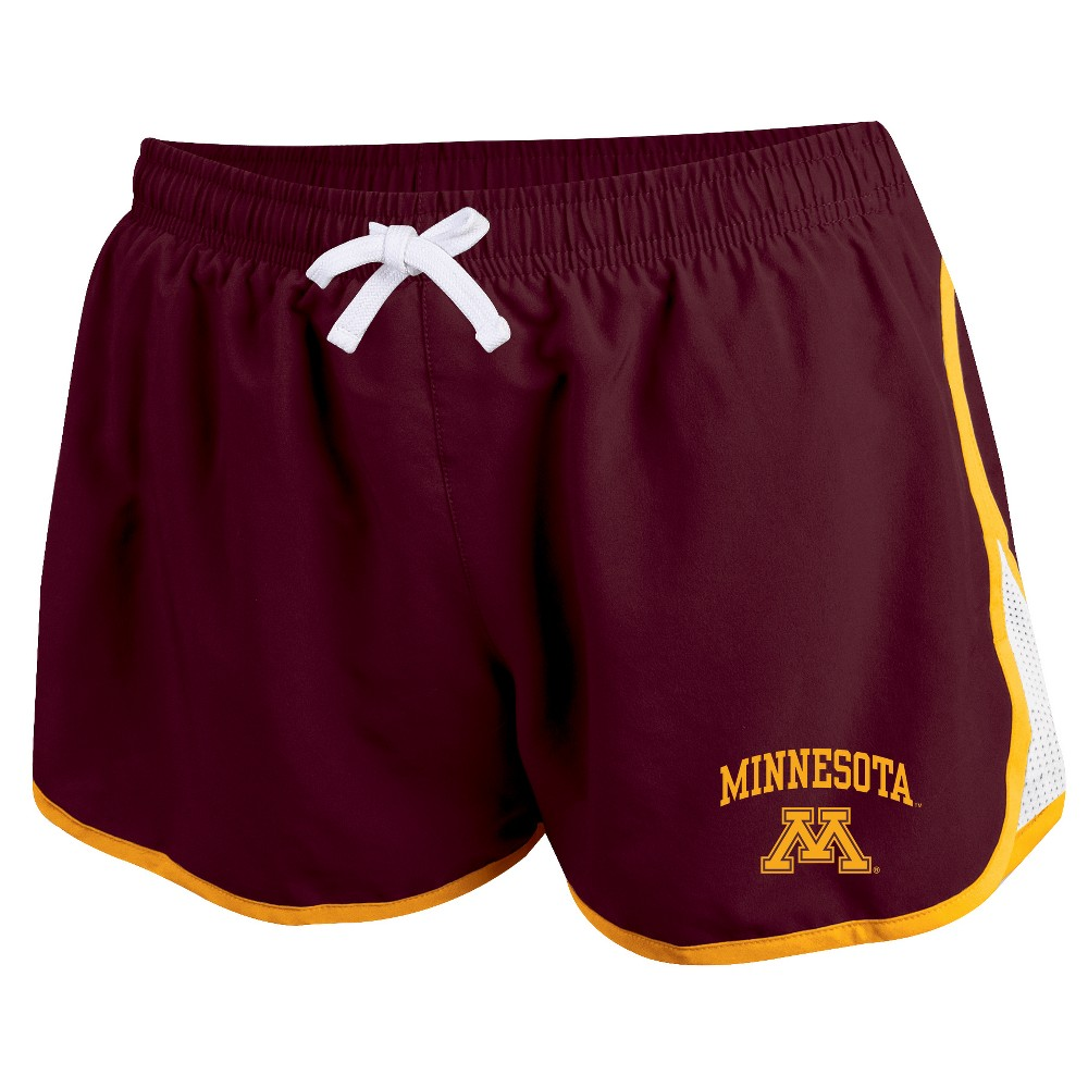 Minnesota Golden Gophers Women's Movement Athletic Shorts M, Multicolored