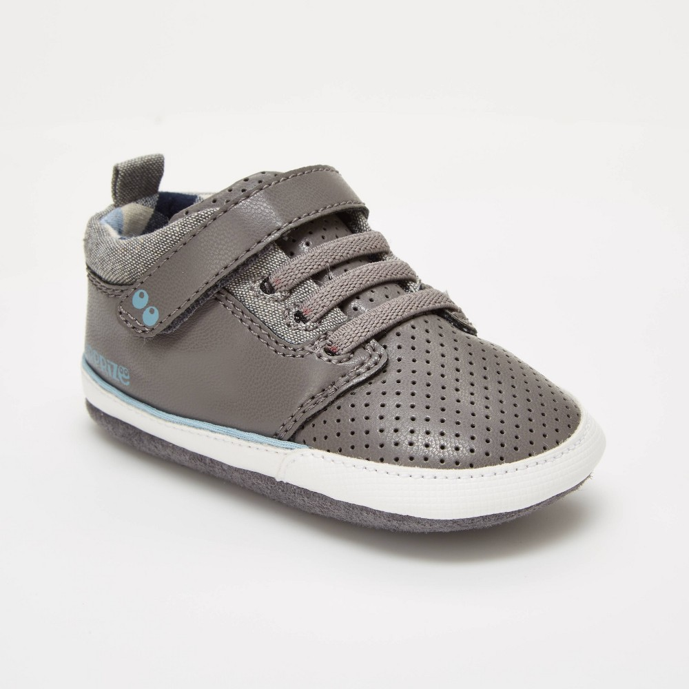 Image of Baby Boys' Surprize by Stride Rite Ben Sneaker Mini Shoes - Grey 12-18M, Boy's, Gray