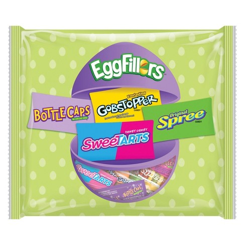 Bottle Caps, Gobstoppers, SweeTarts, and Spree Easter Egg Fillers - 18oz - image 1 of 1