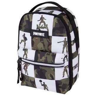 Fortnite Multiplier Lunch Bag - Camo/White Check