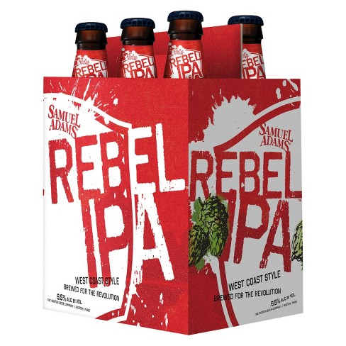 Samuel Adams® Rebel IPA - 6pk / 12 fl oz Bottles - image 1 of 1