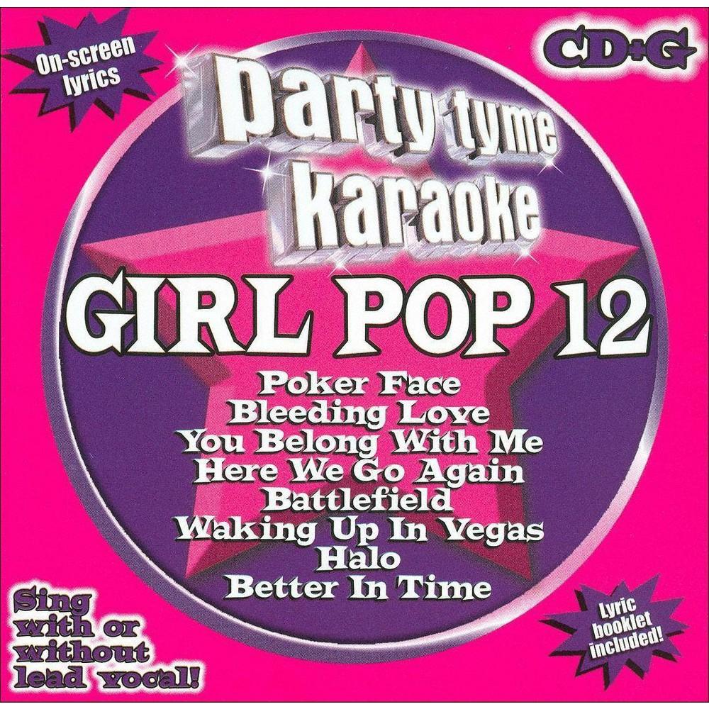Party Tyme Karaoke: Girl Pop 12