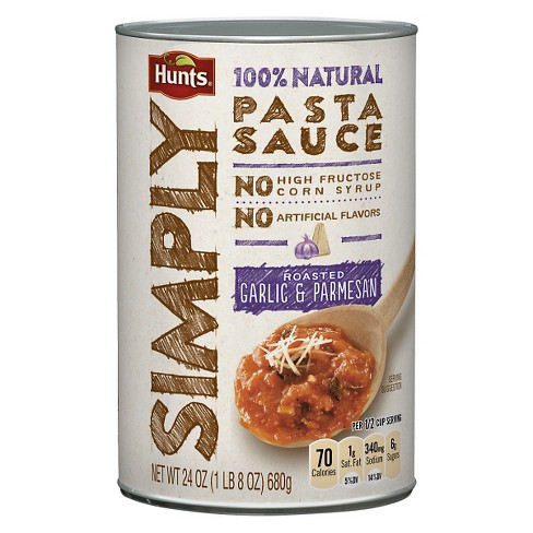 Hunts® Simply Roasted Garlic and Parmesan Pasta Sauce 24 oz - image 1 of 1
