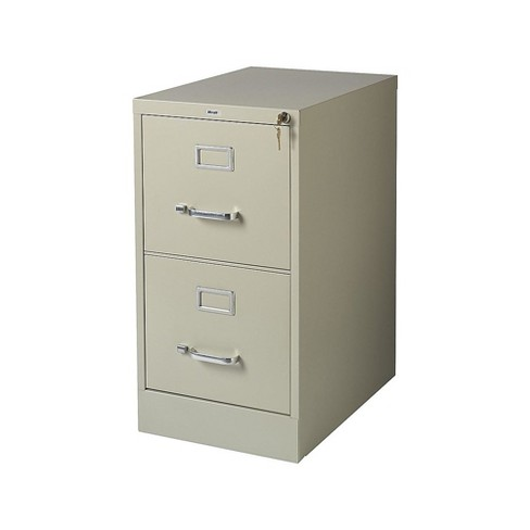 Staples 2 Drawer Vertical File Cabinet, File Cabinet 2 Drawer With Lock