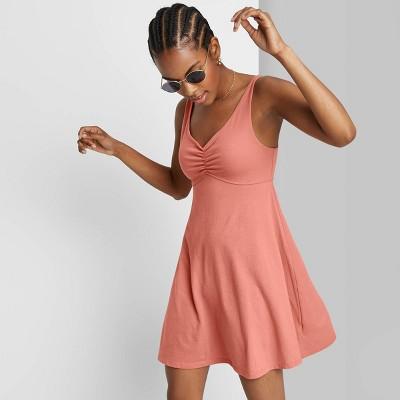 Women's Sleeveless Knit Skater Dress - Wild Fable™