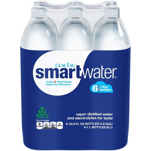 smartwater - 6pk/1 L Bottles - image 1 of 1