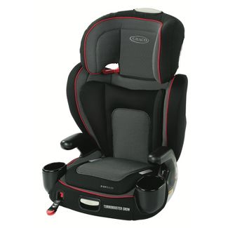 Graco TurboBooster Grow With Me Highback Booster Car Seat - Dax