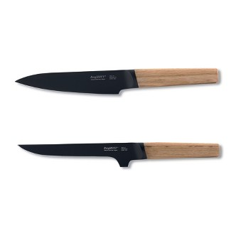 """BergHOFF Ron 2Pc Cutlery Set, 5"""" Chef's & 6"""" Boning, Natural : Target"""