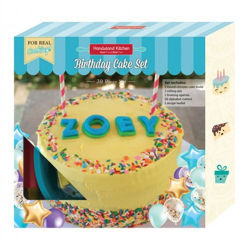 Handstand Kitchen Birthday Cake Baking Set