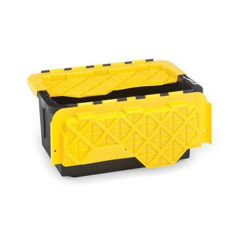 6pk 15gal Durabilt Flip Cover Tough Container - Homz - image 1 of 4