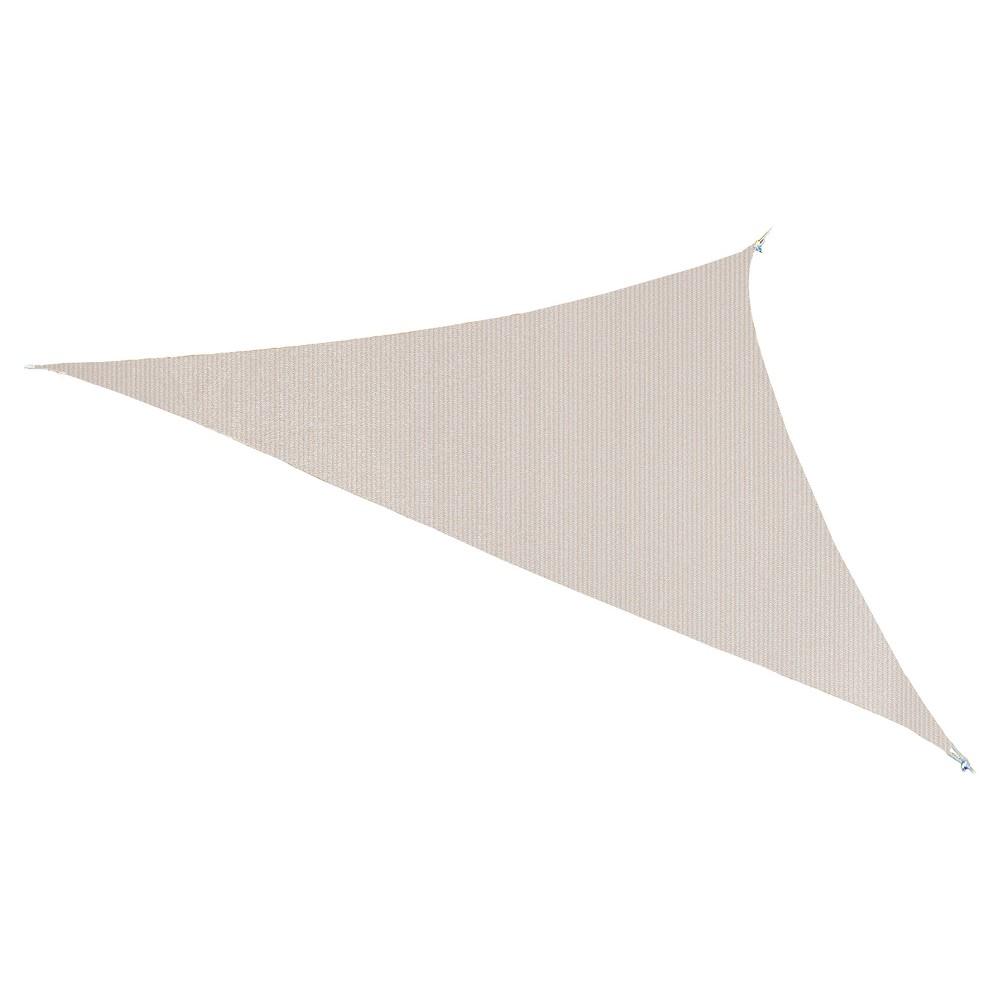 """Image of """"Ready to Hang Shade Sail 11'10"""""""" - Pebble - Coolaroo"""""""