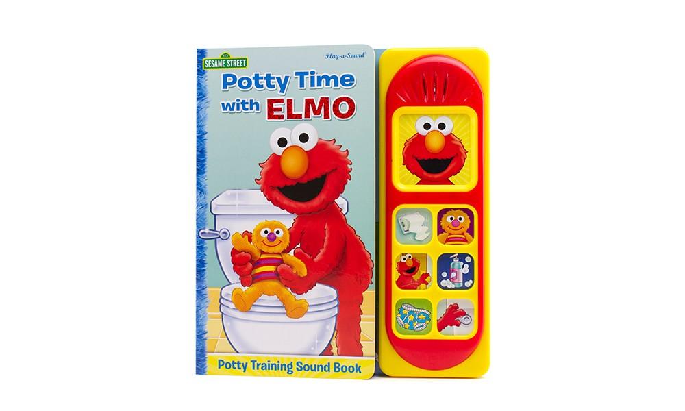 Sesame Street Potty Time With Elmo (Board)