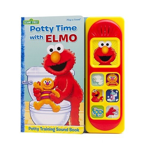 Potty Time With Elmo (Board) - image 1 of 1