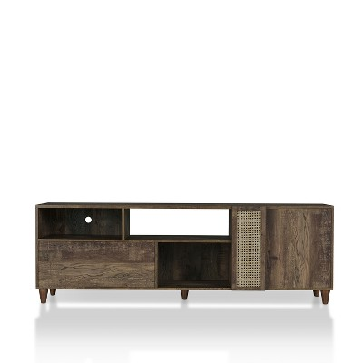 """Niles TV Stand for TVs up to 80"""" Reclaimed Oak - HOMES: Inside + Out"""