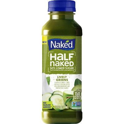 Naked Juice Half Naked Lively Greens Fruit Smoothie - 15.2 fl oz