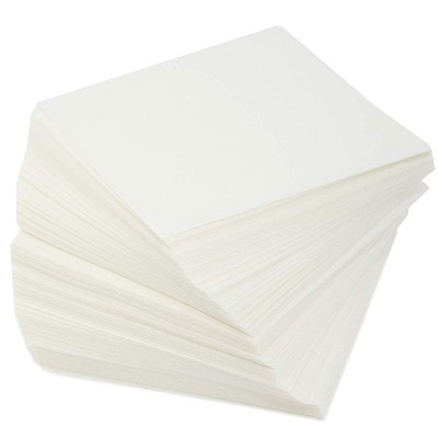 """Juvale 1000 Pack Square Parchment Paper Sheets for Baking, White, 4"""""""