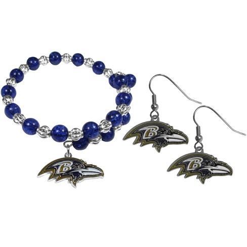 NFL Baltimore Ravens Snowflake Bracelet & Earring - image 1 of 1