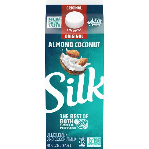 Silk AlmondMilk with CoconutMilk Original Blend - 0.5gal - image 1 of 3