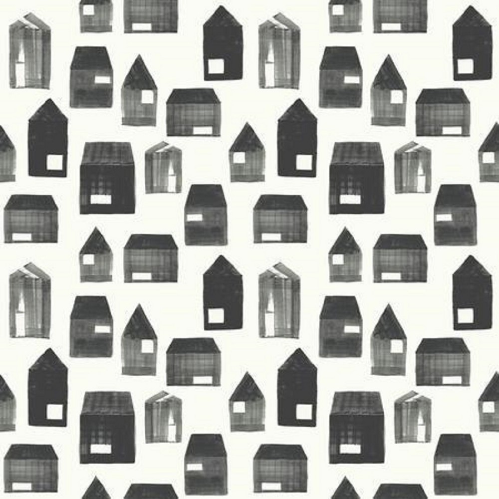 Sample Square Wallpaper House Print - Hearth & Hand with Magnolia, Ivory