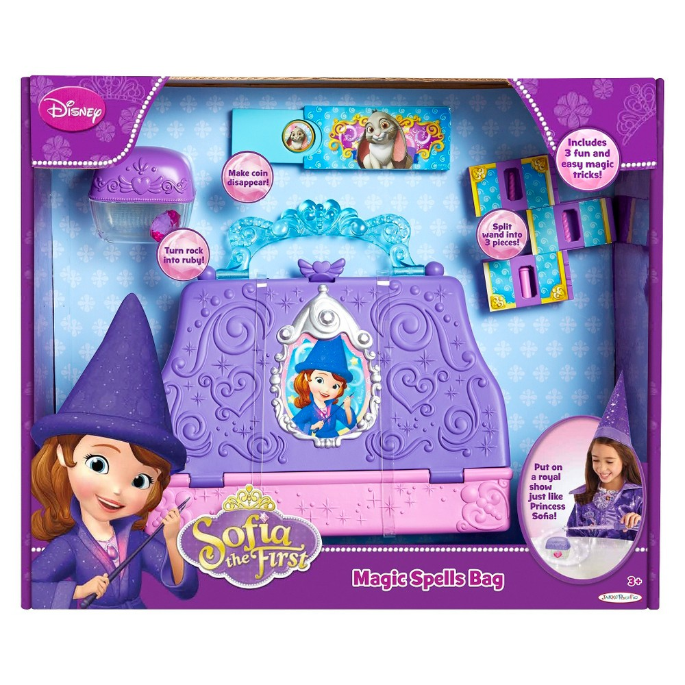 Disney Sofia the First Magic Spells Bag, Adult Unisex, Size: Small, Red