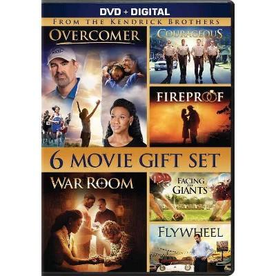 Courageous / Facing Giants / Fireproof / Overcomer / Flywheel / War Room (DVD)(2020)