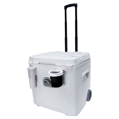 Igloo Marine Ultra Quantum Roller Cooler - White (52 Quart)