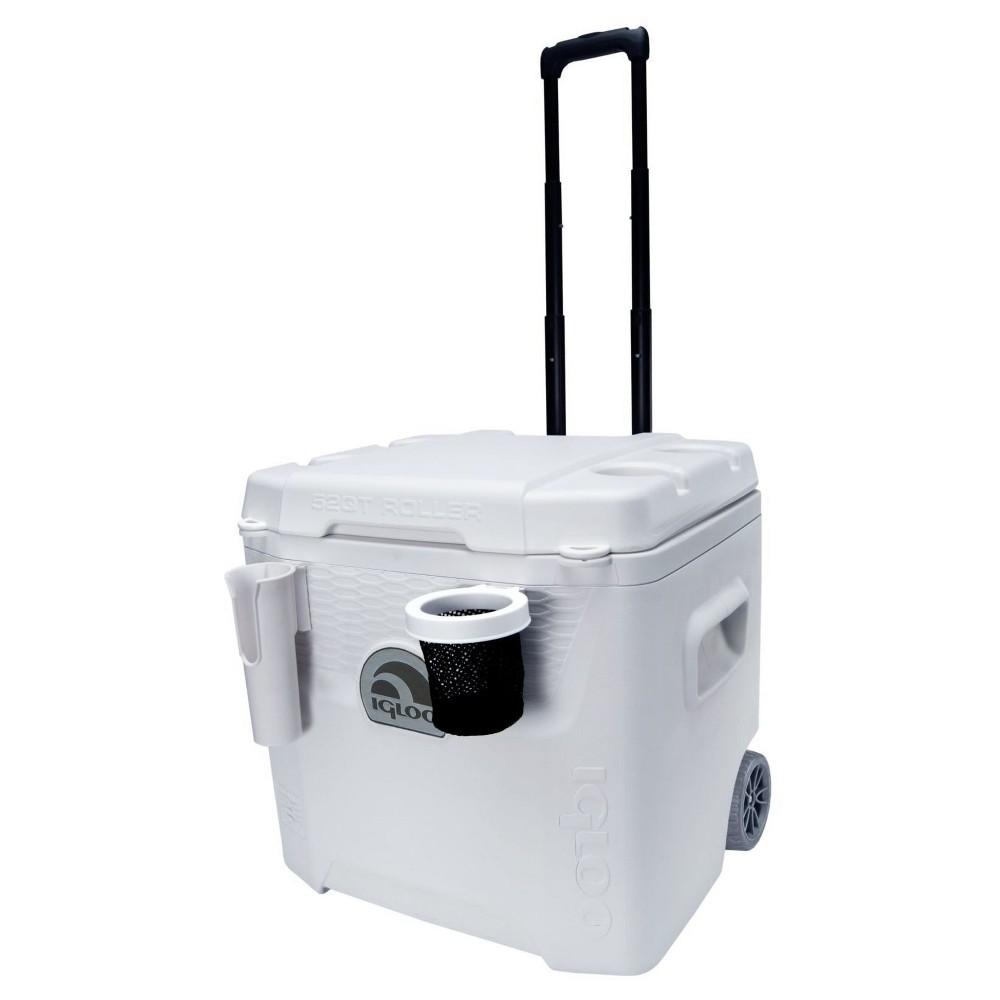 Igloo Marine Ultra Quantum Roller Cooler White 52 Quart