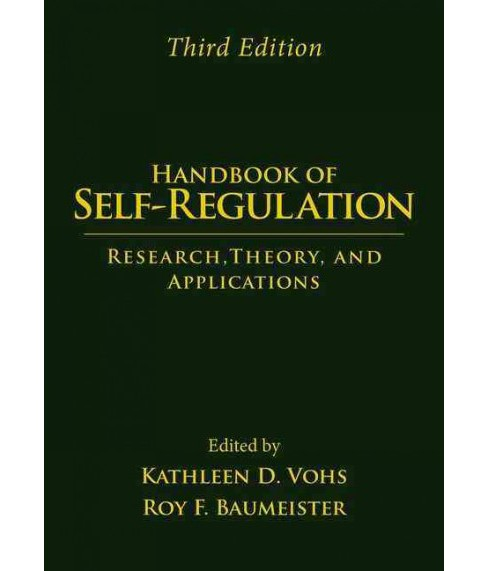 Handbook of Self-Regulation : Research, Theory, and Applications (Hardcover) - image 1 of 1