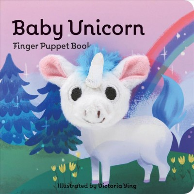 Baby Unicorn Finger Puppet Book by Victoria Ying- (Hardcover)