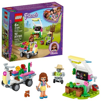 LEGO Friends Olivia's Flower Garden Mini-Doll Set, Includes Garden Accessories 41425