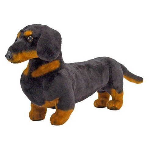 Melissa Doug Giant Dachshund Lifelike Stuffed Animal Dog Target
