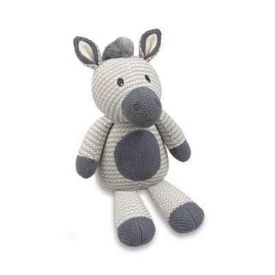 Living Textiles Baby Stuffed Animal - Zac Zebra